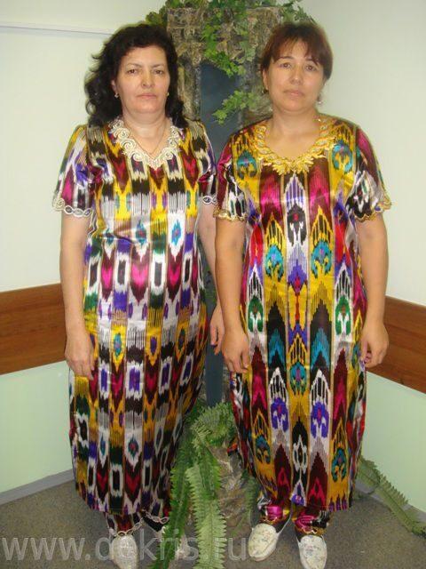 Национальные узбекские платья 24