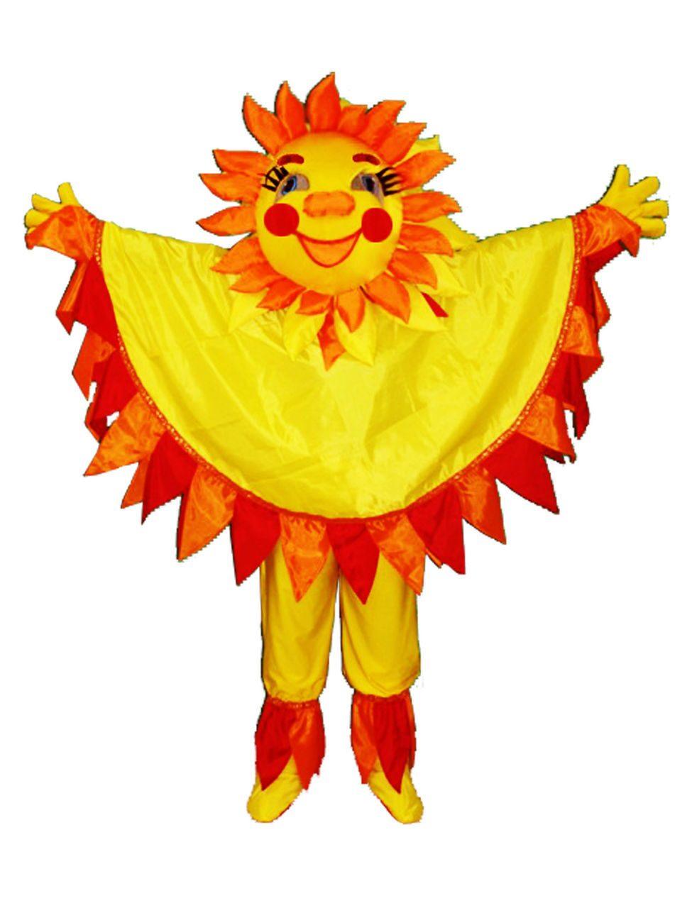 Костюм солнышко своими руками для детского сада