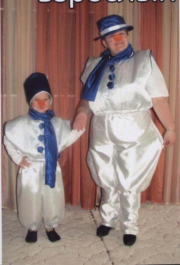 Костюм взрослый снеговика как сделать своими руками 191