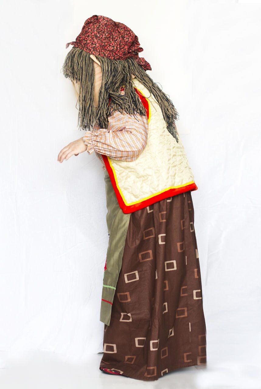 Как сделать костюм Бабы Яги своими руками - ФОТО 48