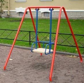 Детские качели из металла на подшипниках